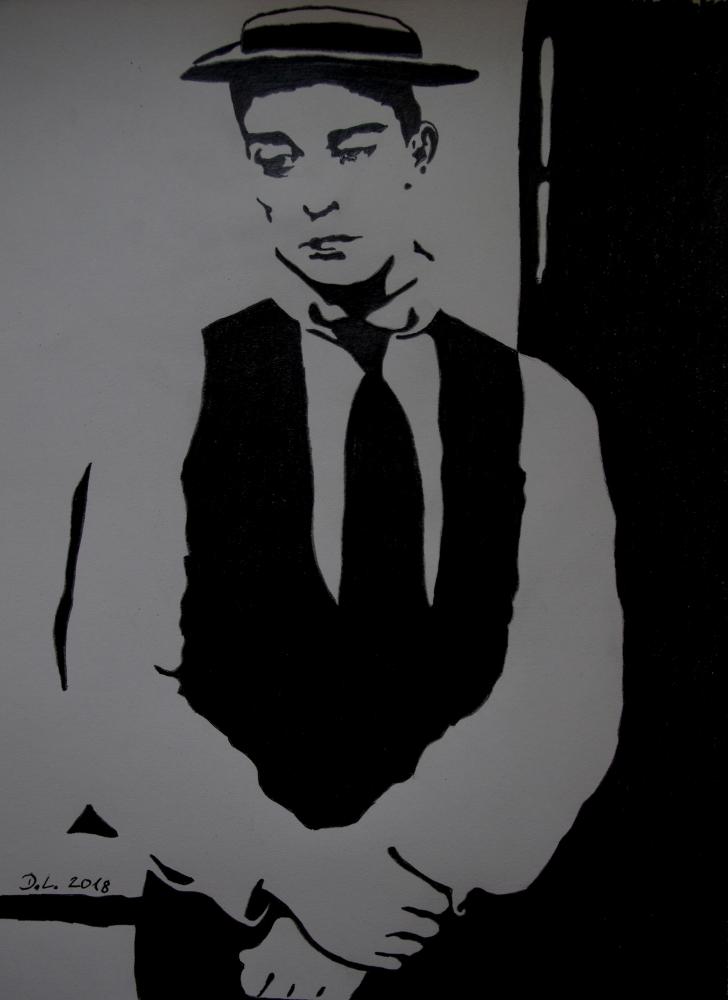 Buster Keaton par HamburgGirl